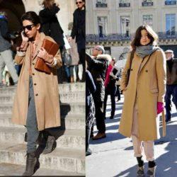 С чем носить бежевое пальто? Фото, с чем сочетать, какие подобрать аксессуары. Модели
