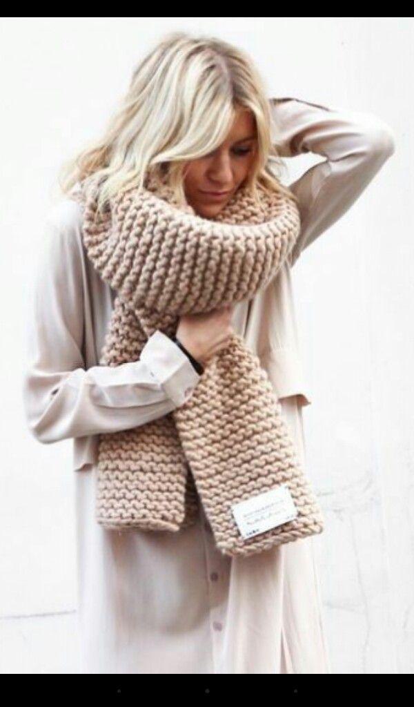 трендовые шарфы