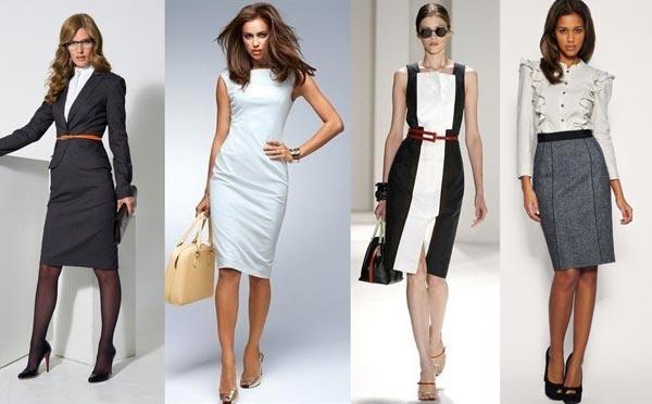 деловая одежда реферат