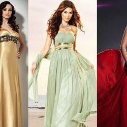 Платья в стиле ампир: фото, варианты образов, с чем надеть. Свадебные модели