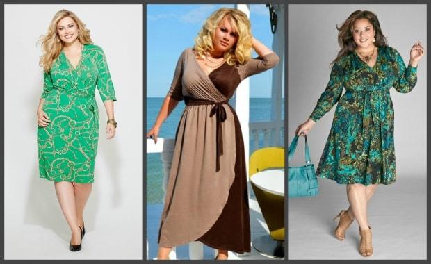 Платье халат для полных