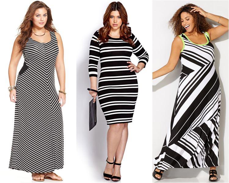 ec66a22f84caf98 Фасоны платьев для полных женщин: фото моделей, которые стройнят