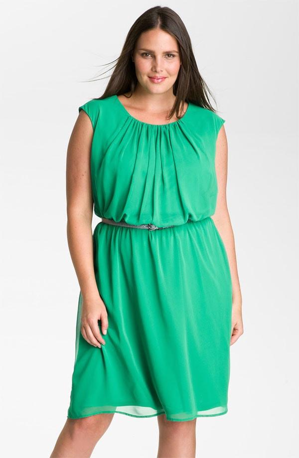 Фото шифоновые платье для полных
