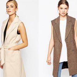 Примеры образов пальто без рукавов. Какое выбрать?