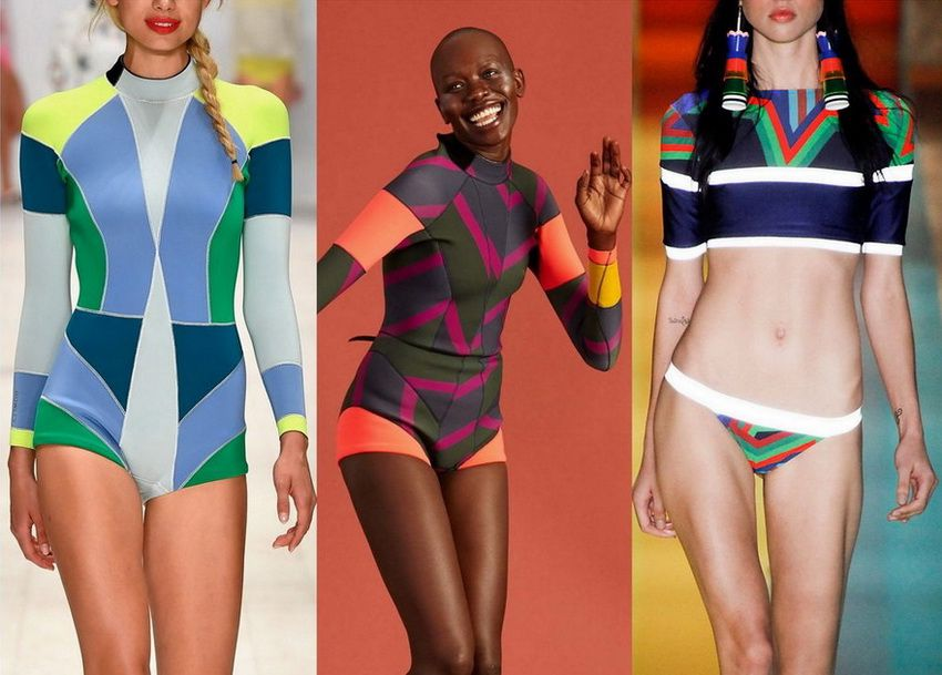 Купальники 2018 года: модные тенденции (фото)