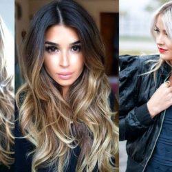 Женские стрижки 2018 на длинные волосы