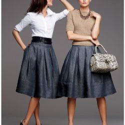 одна юбка — 10 образов