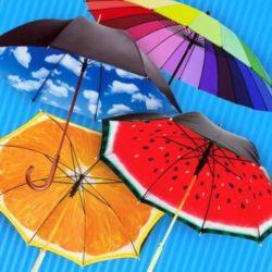 Прогулки под дождем. Выбираем зонт
