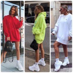С чем носить белые кроссовки женские? Фото, идеи ансамблей с ними, цветовые сочетания