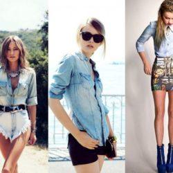 С чем носить джинсовую рубашку женскую? Фото, примеры луков, образы на каждый день