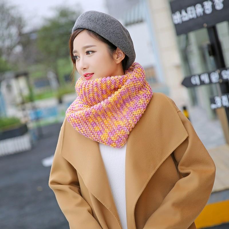 цвет модные шарфы