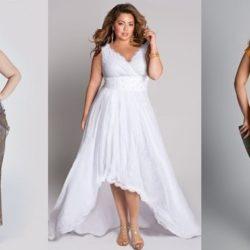 Какие бывают фасоны платьев для полных женщин? Фото, примеры моделей, идеи комбинаций с аксессуарами. Варианты платьев для леди с животом